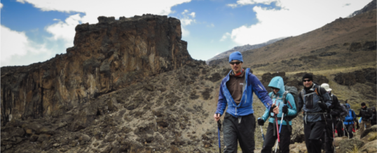 Reisverslag 24-1, Shira Camp – Barranco Camp (3950 m)